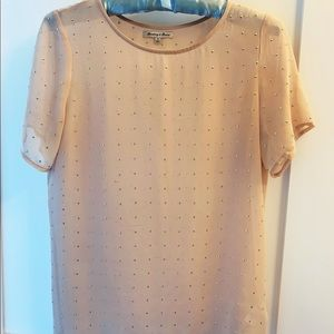 Madewell sheer top. Great for summer